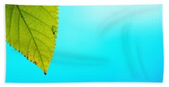 Blue Lagoon Beach Towel by Prakash Ghai