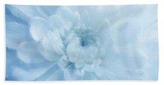 Blue Mum Luminous Painted Blossom Beach Sheet