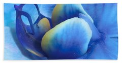 Blue Oasis Beach Towel