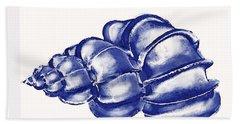 Blue Shell Beach Sheet by Jane Schnetlage