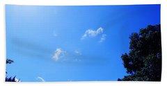 Blue Sky And Sunshine Beach Towel