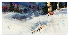 Blue Sky Birch Beach Sheet