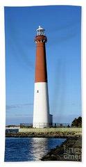 Blue Sky Blue Sea  And Barnegat Light Beach Sheet