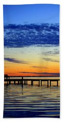 Beach Towel featuring the photograph Blue Sky by Faith Williams