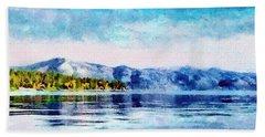 Blue Tahoe Beach Towel