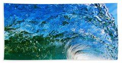 Blue Tube Beach Towel