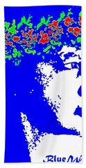 Blue Wahine Beach Towel