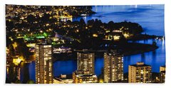 Blue Water Kitsilano Mcdix Beach Towel