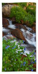 Bluebell Creek Beach Towel