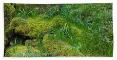 Beach Sheet featuring the photograph Bluebells  by Marilyn Wilson