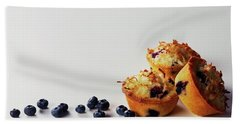 Blueberry-coconut Pound Cakes Beach Towel