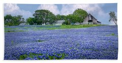 Bluebonnet Farm Beach Sheet