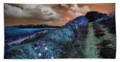 Bluegrass Beach Towel by Linda Unger