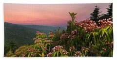 Blueridge Parkway Mountain Laurel Beach Sheet
