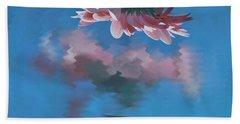 Blushing Pink Bloom Beach Towel