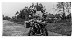 Bmw R 1200 Gs Beach Towel
