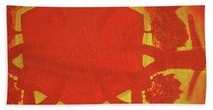 Boards Of Canada Geogaddi Album Cover Beach Towel