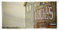 Boardwalk Empire Beach Towel by Heather Applegate