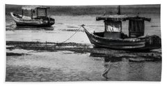 Boats Of Trinidad Beach Towel