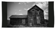 Beach Towel featuring the photograph Bodie California  by Nick  Boren
