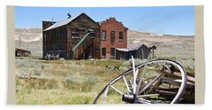 Bodie Ghost Town 3 - Old West Beach Towel