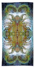 Beach Towel featuring the digital art Bogomil Variation 14 - Otto Rapp And Michael Wolik by Otto Rapp