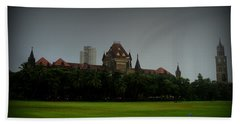 Beach Sheet featuring the photograph Bombay High Court by Salman Ravish