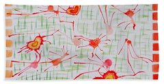 Bonds Of Love Beach Towel by Sonali Gangane