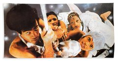 Boney M Night Flight To Venus Beach Towel