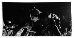 Bono 051 Beach Towel by Timothy Bischoff