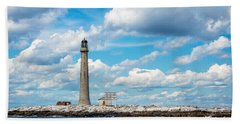 Boon Island Light Station Beach Towel