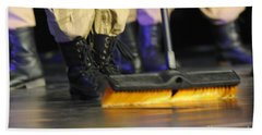 Boots And Brooms Beach Towel