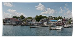 Boothbay Harbor 1242 Beach Towel