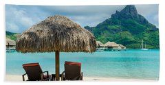 Bora Bora Beach Beach Towel by IPics Photography