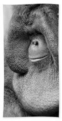 Bornean Orangutan V Beach Towel