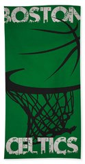 Boston Celtics Hoop Beach Towel