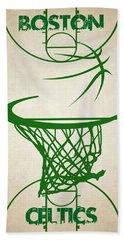 Boston Celtics Court Beach Towel