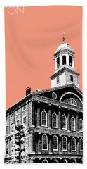 Boston Faneuil Hall - Salmon Beach Towel