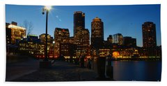 Boston Harbour Beach Towel