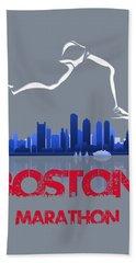 Boston Marathon3 Beach Towel