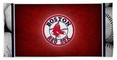 Boston Red Sox Beach Towel