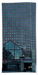 Boston Reflections Beach Towel