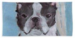 Boston Terrier Beach Sheet