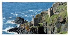 Botallack Crown Engine Houses Cornwall Beach Towel