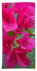 Bougainvillea Dream #2 Beach Towel by Robert ONeil