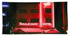 Boulevard Hotel Beach Sheet