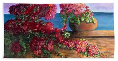 Bountiful Bougainvillea Beach Sheet