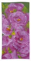 Bouquet Beach Sheet by Judith Rhue