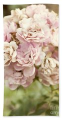 Bouquet Of Vintage Roses Beach Towel