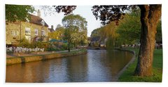 Bourton On The Water 3 Beach Towel